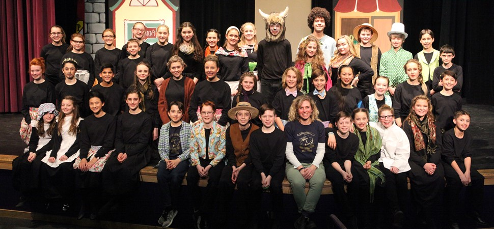 The FMS cast of Beauty and the Beast