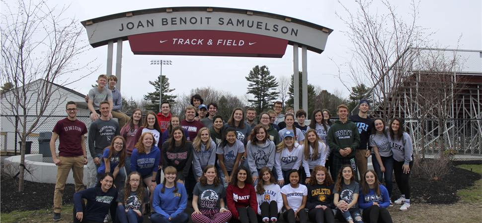 New Joan Benoit Samuelson Track and Field