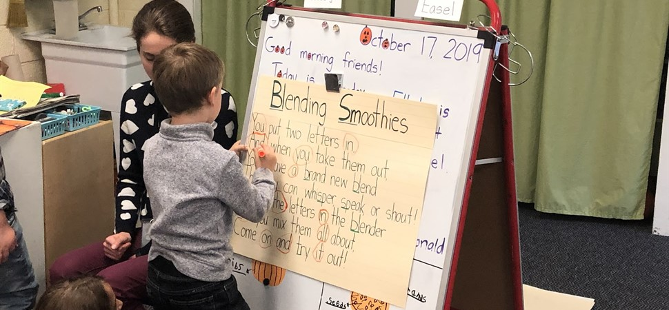 Shared reading in first grade