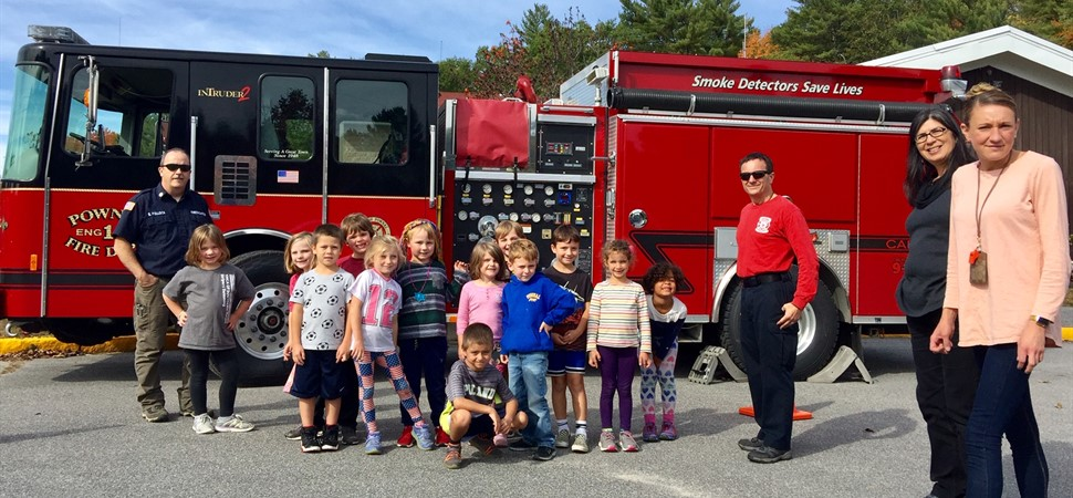 PES-1st grade at Fire Prevention Day