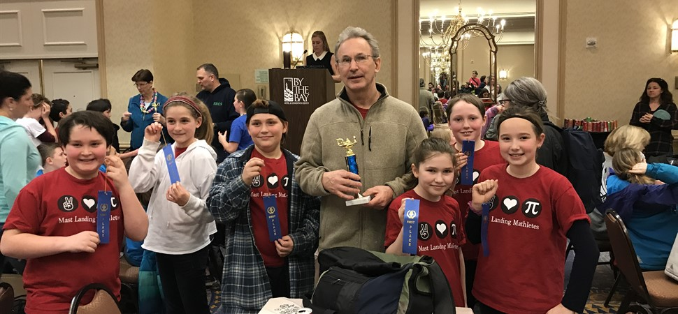 MLS-The Math Team takes 1st Place
