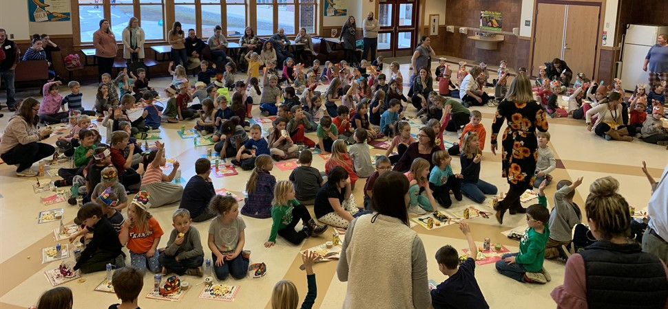 PK-2 Thanksgiving feast