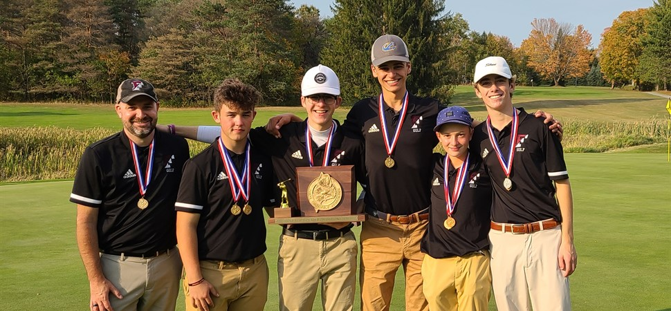 FHS Golf Team Class B State Champions